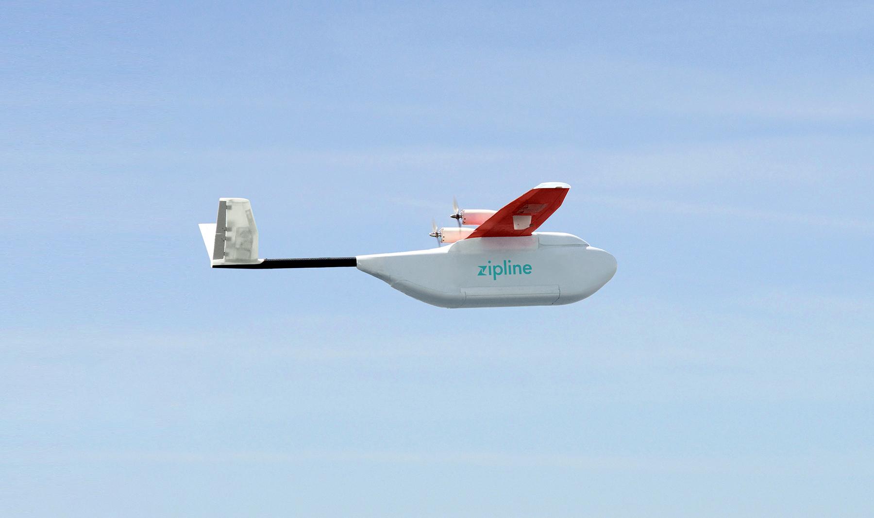 طائرات بدون طيار تنقل الدم إلى المستشفيات في رواندا