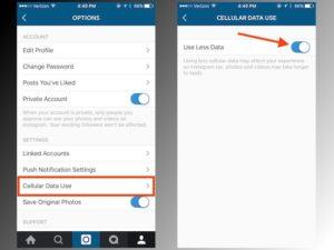 instagram-data-usage