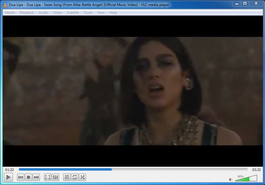 Did you try player multimedia free VLC Media Player?!   Here