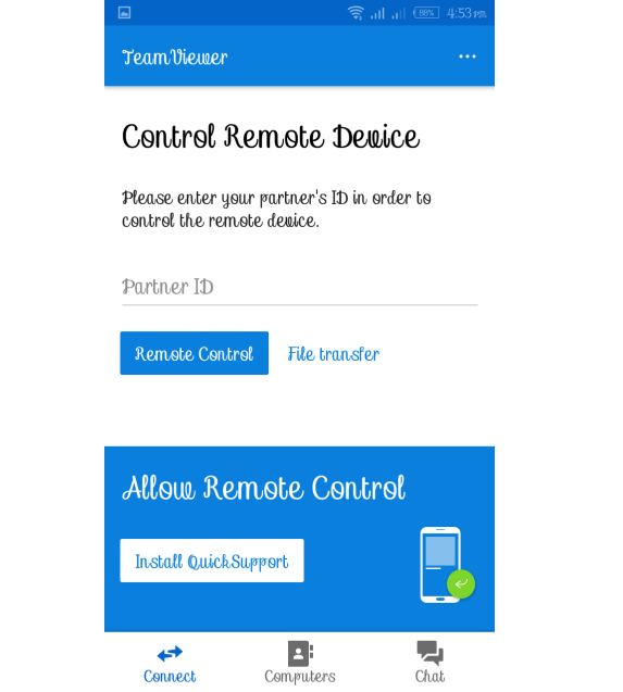 How to control your PC remotely via your smart phone