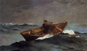 lost_on_the_grand_banks_by_winslow_homer_1885