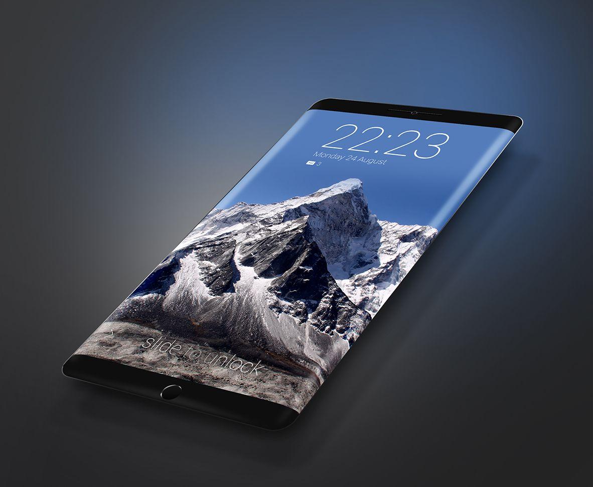 نموذج تخيلي لـ Galaxy S8
