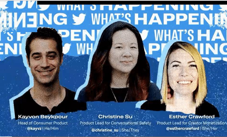 مؤتمر صحفي لشركة تويتر لإطلاق مميزات جديدة لضمان ربحية صناع المحتوى على منصتها